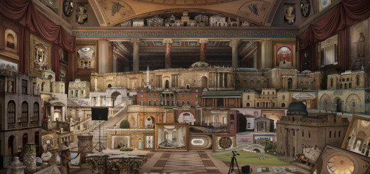Grand Tour In Search of Soane (after Gandy) by Emily Allchurch. Credit -®Emily Allchurch